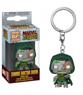 Pocket Pop! Keychain - Zombie Doctor Doom