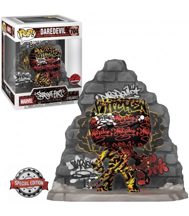 Pop! Deluxe Daredevil Street Art Collection Edition Limitée [704]