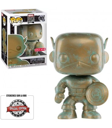 Pop! Captain America Patina Edition Limitée [497]