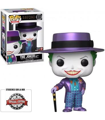 Pop! The Joker (Batman 1989) Metallic Edition Limitée [337]
