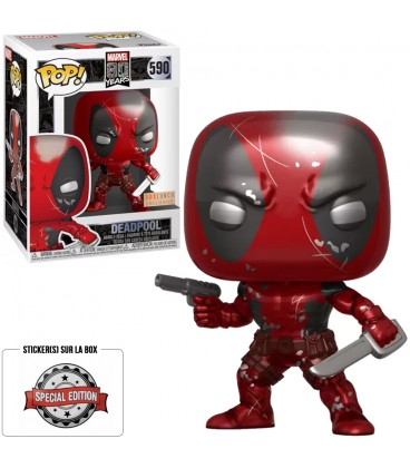 Pop! Deadpool Metallic Edition Limitée [590]