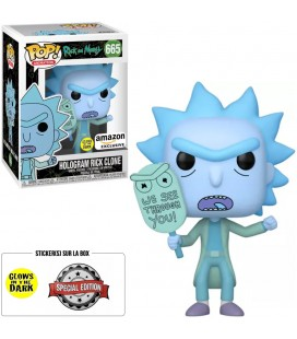 Pop! Hologram Rick Clone GITD Edition Limitée [665]