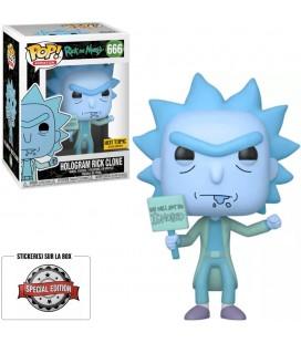 Pop! Hologram Rick Clone Edition Limitée [666]