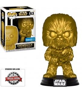 Pop! Chewbacca Metallic Gold Edition Limitée [63]