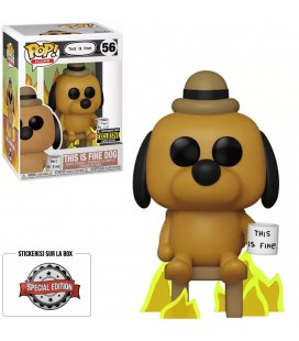Pop! This Is Fine Dog Edition Limitée [56]
