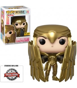 Pop! Wonder Woman Golden Armor Shield Edition Limitée [329]