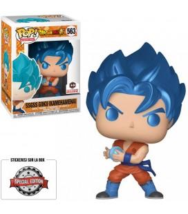 Pop! SSGSS Goku Kamehameha (Metallic) Edition Limitée [563]