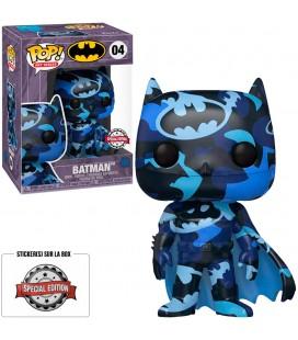 Pop! Artist Series Batman (Protection Pop! Stacks incluse) Edition Limitée [04]