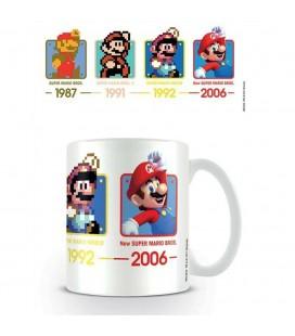 Mug Super Mario Evolution