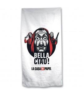 Serviette de Plage / Bain Microfibre Bella Ciao
