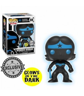Pop! Wonder Woman Silhouette GITD LE [08]
