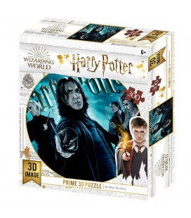 Puzzle Lenticulaire 3D Slytherin (300)