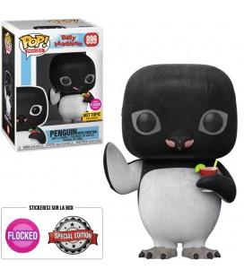 Pop! Penguin (with Cocktail) Flocked Edition Limitée [899]