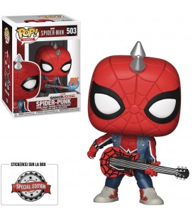 Pop! Spider-Punk Edition Limitée [503]