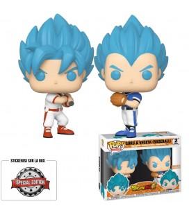 Pop! Goku & Vegeta (Baseball) Edition Limitée [2-Pack]