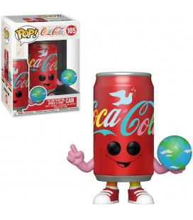 """Pop! """"I'd like to buy the world a Coke"""" Can [105]"""