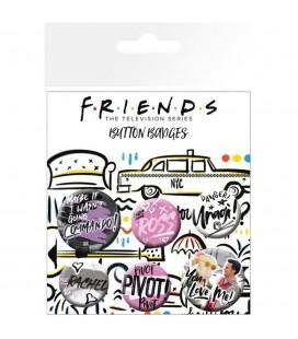 Pack de 5 badges (Doodle)