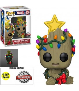 Pop! Groot Holiday GITD Edition Limitée [530]