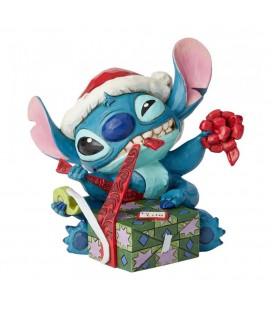 Statuette Stitch Bad Wrap - Disney Traditions