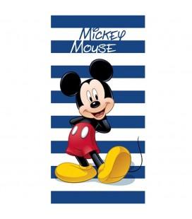 Serviette de Plage / Bain Mickey Mouse Marin