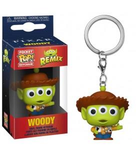 Pocket Pop! Keychain - Woody (Alien Remix)