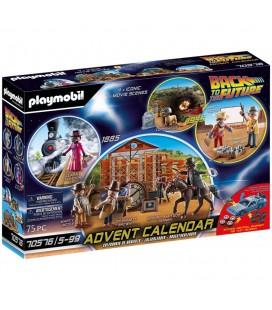 Calendrier de l'Avent Playmobil Retour Vers le Futur III