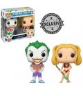 Pop! The Joker and Harley Quinn Beach [2-Pack]