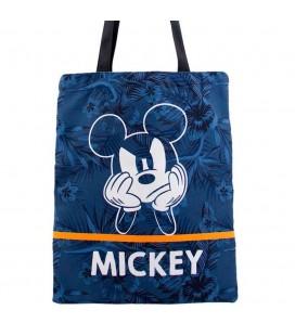Sac Shopping Mickey Blue
