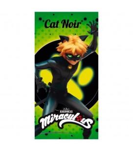 Serviette de Plage / Bain Cat Noir