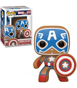 Pop! Gingerbread Captain America (Holiday) [933]