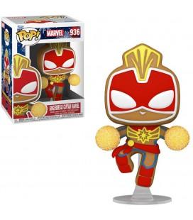 Pop! Gingerbread Captain Marvel (Holiday) [936]