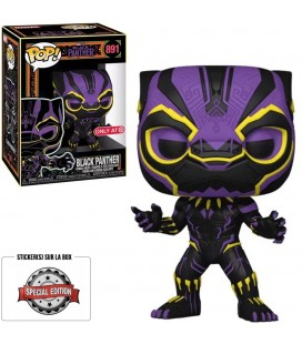 Pop! Black Panther Edition Limitée Black Light Series [891]