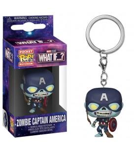 Pocket Pop! Keychain - Zombie Captain America