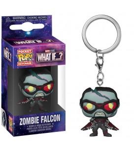 Pocket Pop! Keychain - Zombie Falcon