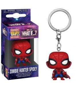 Pocket Pop! Keychain - Zombie Hunter Spidey