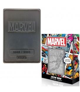 Lingot de Collection Numéroté Iron Man (9995 Ex)