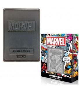 Lingot de Collection Numéroté Spider-Man (9995 Ex)