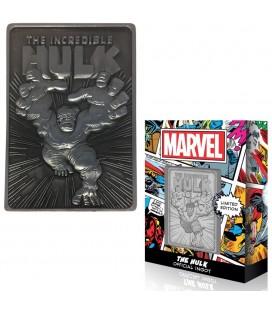 Lingot de Collection Numéroté The Hulk (9995 Ex)