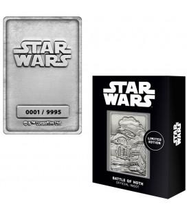 Lingot de Collection Iconic Scene Numéroté Battle Of Hoth (9995 Ex)