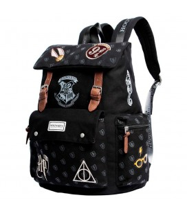 Sac à Dos Old Harry Potter Patches