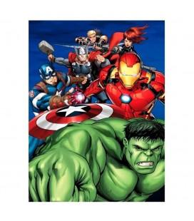 Plaid Couverture Polaire Avengers