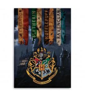 Plaid Couverture Polaire Hogwarts Houses