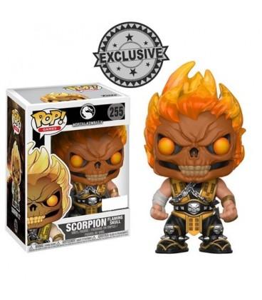 Pop! Scorpion (Flaming Skull) LE [255]