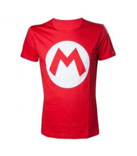 Tshirt Mario Logo Rouge (M)
