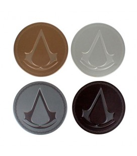 Sous-Verres Metal Assassin's Creed