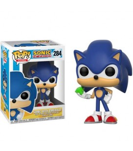 Pop! Sonic With Emerald [284]