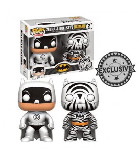 Pop! Zebra & Bullseye Batman [2-Pack]