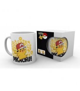 Mug Pikachu Ash Hat