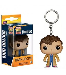 Pocket Pop! Keychain - Tenth Doctor