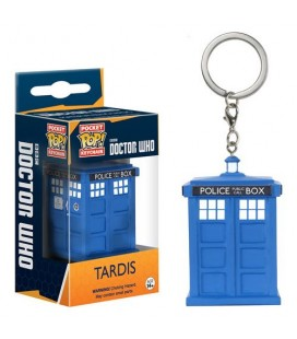 Pocket Pop! Keychain - Tardis